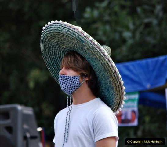 2021-09-04 Bridport Hat Festival. (311) On the Green. 311