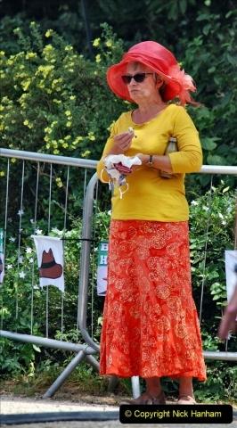 2021-09-04 Bridport Hat Festival. (312) On the Green. 312
