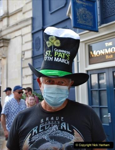 2021-09-04 Bridport Hat Festival. (32) In the town. 032