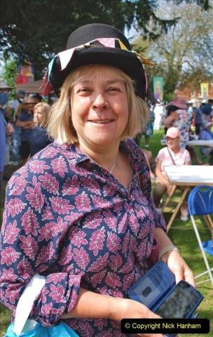 2021-09-04 Bridport Hat Festival. (321) On the Green. 321