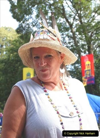 2021-09-04 Bridport Hat Festival. (322) On the Green. 322