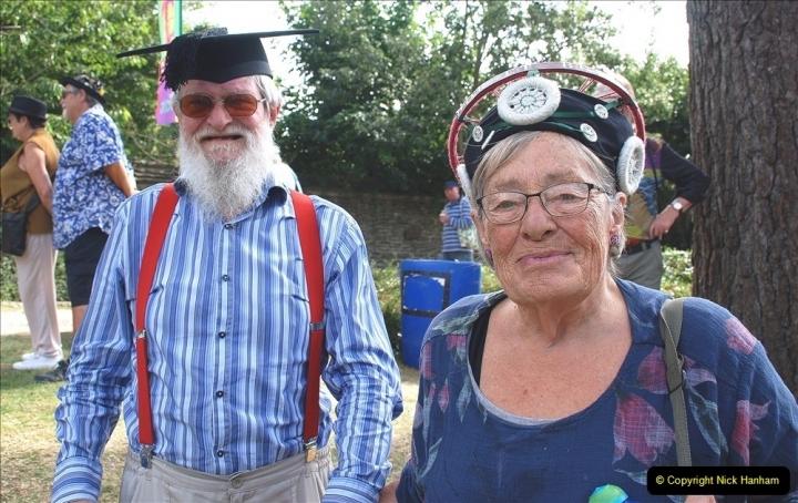 2021-09-04 Bridport Hat Festival. (323) On the Green. 323
