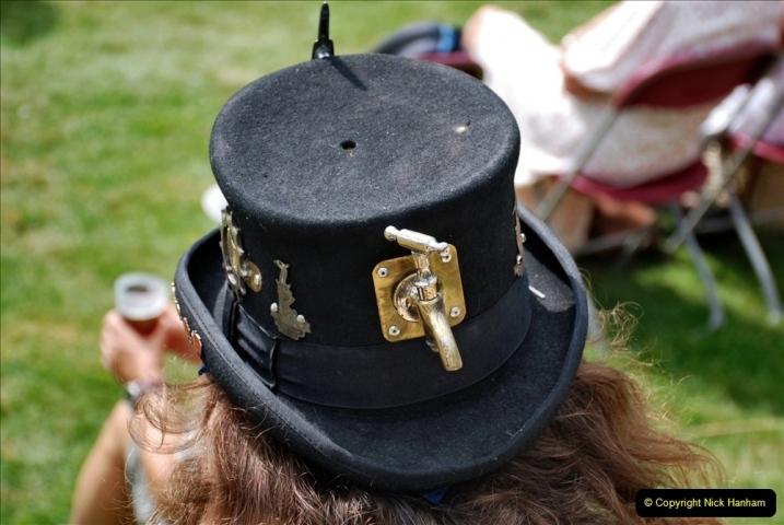 2021-09-04 Bridport Hat Festival. (333) On the Green. 333