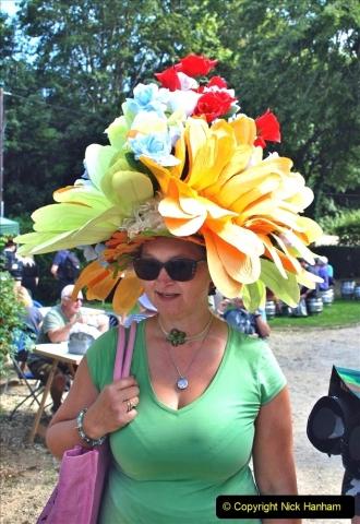 2021-09-04 Bridport Hat Festival. (337) On the Green. 337