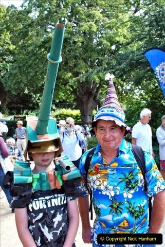 2021-09-04 Bridport Hat Festival. (338) On the Green. 338