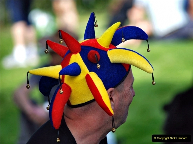 2021-09-04 Bridport Hat Festival. (339) On the Green. 339