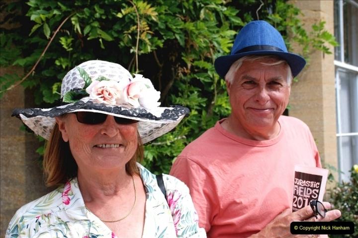 2021-09-04 Bridport Hat Festival. (341) On the Green. 341