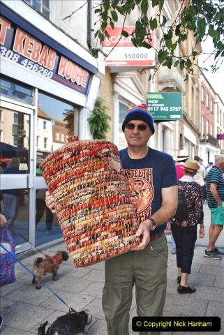 2021-09-04 Bridport Hat Festival. (35) In the town. 035
