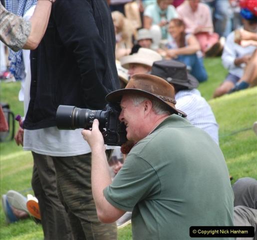 2021-09-04 Bridport Hat Festival. (360) On the Green. 360