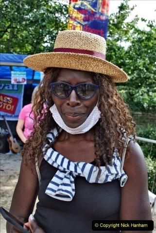 2021-09-04 Bridport Hat Festival. (362) On the Green. 362
