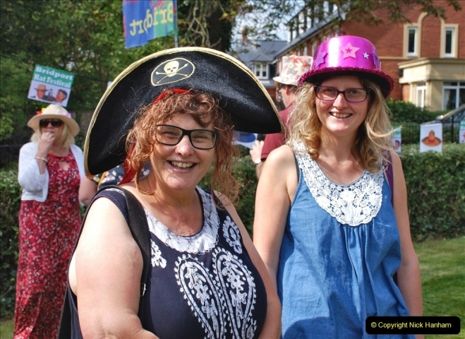 2021-09-04 Bridport Hat Festival. (364) On the Green. 364