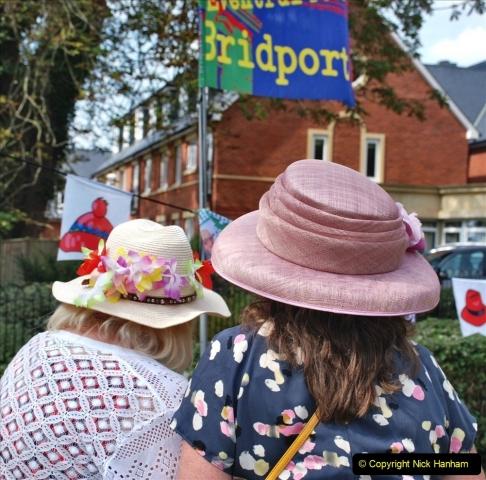 2021-09-04 Bridport Hat Festival. (366) On the Green. 366