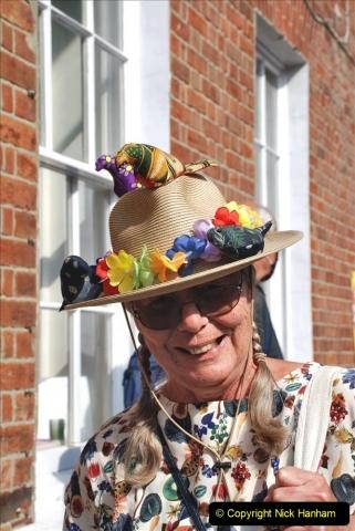 2021-09-04 Bridport Hat Festival. (42) In the town. 042