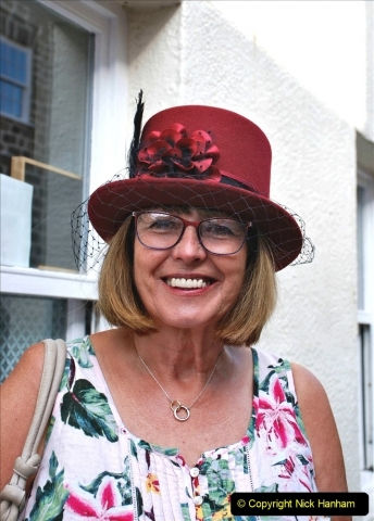 2021-09-04 Bridport Hat Festival. (43) In the town. 043