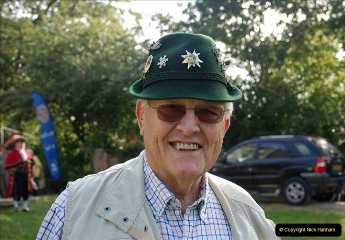 2021-09-04 Bridport Hat Festival. (53) On the Green. 053