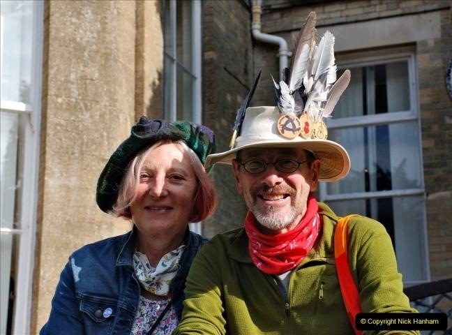 2021-09-04 Bridport Hat Festival. (54) On the Green. 054