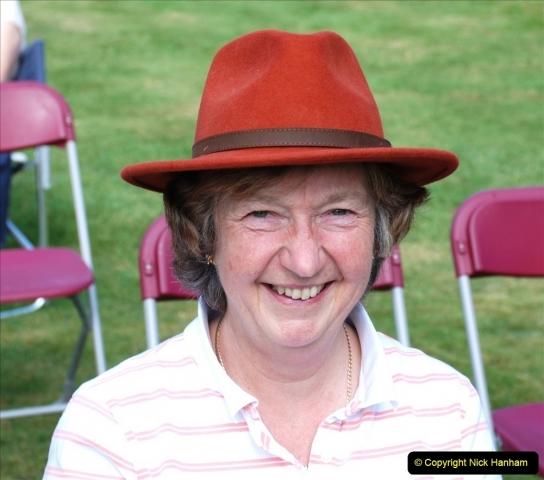 2021-09-04 Bridport Hat Festival. (57) On the Green. 057