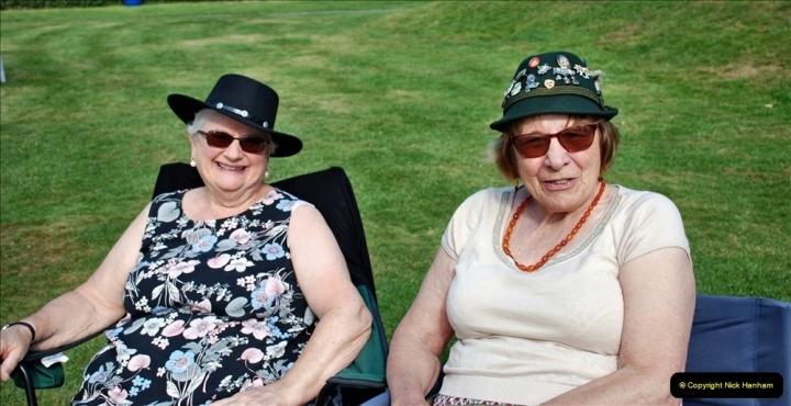 2021-09-04 Bridport Hat Festival. (59) On the Green. 059