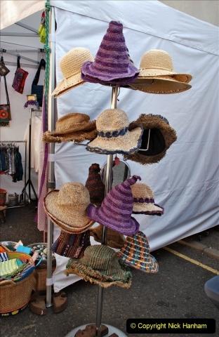 2021-09-04 Bridport Hat Festival. (6) In the town. 006