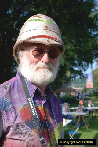 2021-09-04 Bridport Hat Festival. (69) On the Green. 069