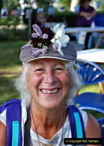 2021-09-04 Bridport Hat Festival. (72) On the Green. 072