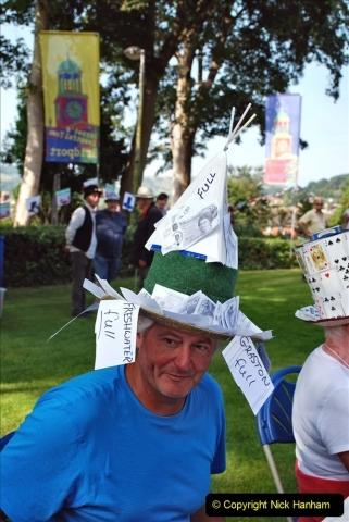 2021-09-04 Bridport Hat Festival. (76) On the Green. 076