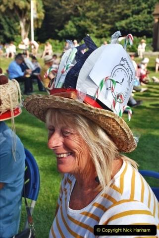 2021-09-04 Bridport Hat Festival. (77) On the Green. 077