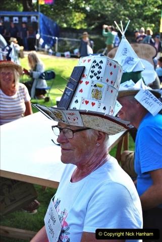 2021-09-04 Bridport Hat Festival. (78) On the Green. 078