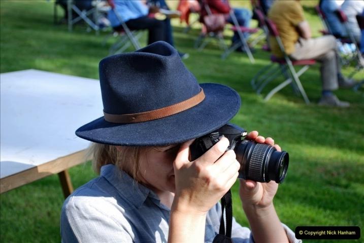 2021-09-04 Bridport Hat Festival. (80) On the Green. 080