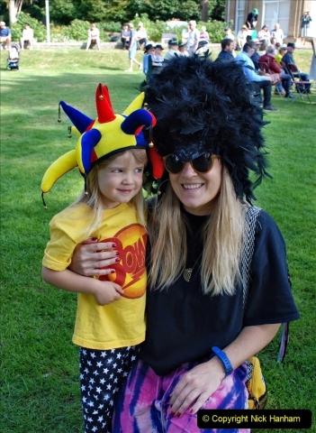 2021-09-04 Bridport Hat Festival. (81) On the Green. 081