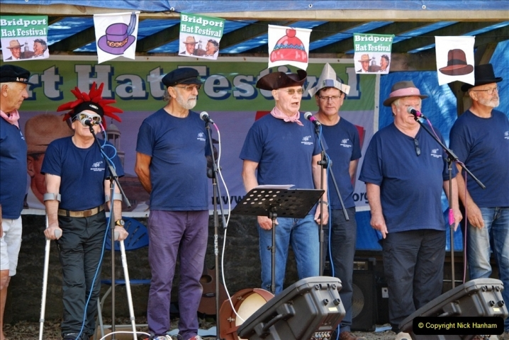 2021-09-04 Bridport Hat Festival. (83) On the Green. 083