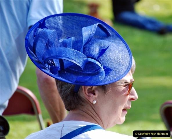 2021-09-04 Bridport Hat Festival. (86) On the Green. 086