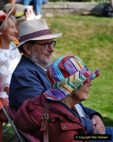 2021-09-04 Bridport Hat Festival. (88) On the Green. 088