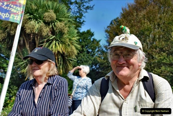 2021-09-04 Bridport Hat Festival. (93) On the Green. 093