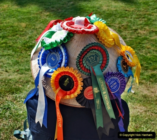 2021-09-04 Bridport Hat Festival. (97) On the Green. 097