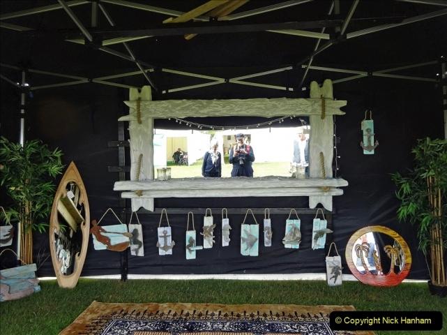 2021-09-11 Sturminster Newton Cheese Festival, Sturminster Newton, Dorset. (97) 097 Your Host & Wife reflecting on the festival.