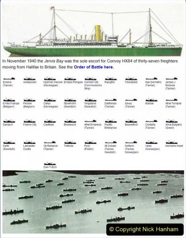 2021-09-12 A 5929 Tribute to HMS Jervis Bay Convoy HX84 WW2. (11) 017