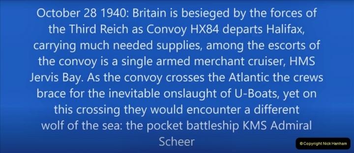 2021-09-12 A 5929 Tribute to HMS Jervis Bay Convoy HX84 WW2. (4) 006