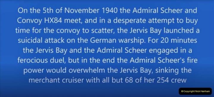 2021-09-12 A 5929 Tribute to HMS Jervis Bay Convoy HX84 WW2. (5) 007