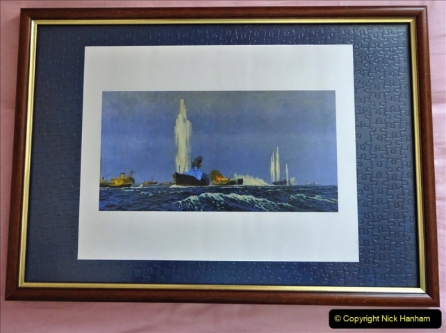 2021-09-12 A 5929 Tribute to HMS Jervis Bay Convoy HX84 WW2. (61a) 070 HMS Jervis Bay in your Host's collection.