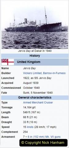 2021-09-12 A 5929 Tribute to HMS Jervis Bay Convoy HX84 WW2. (8) 014