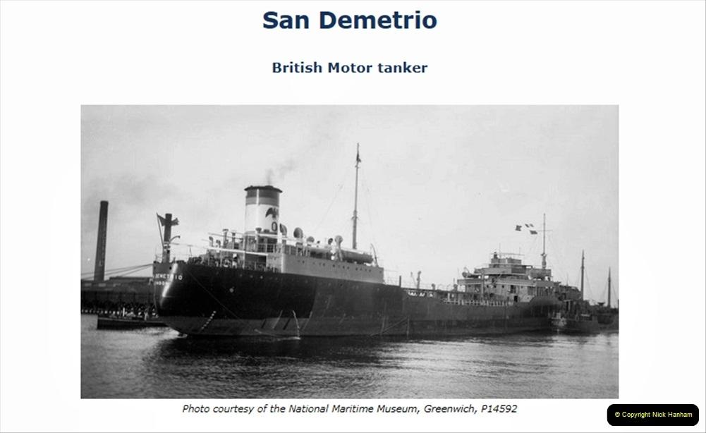 2021 September 13 A 5929 Tribute to MV San Demetrio Convoy HX84 WW2