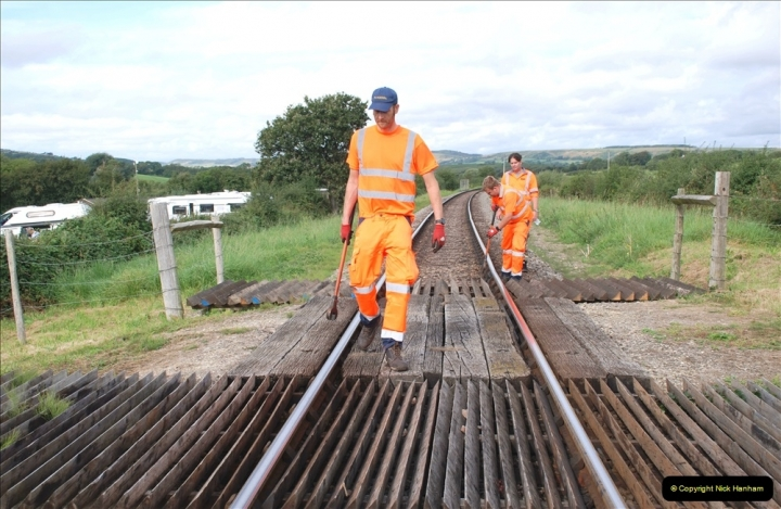 2021-09-17 SR Track Inspection Walk Norden to Swanage five & a half miles. (102) 102