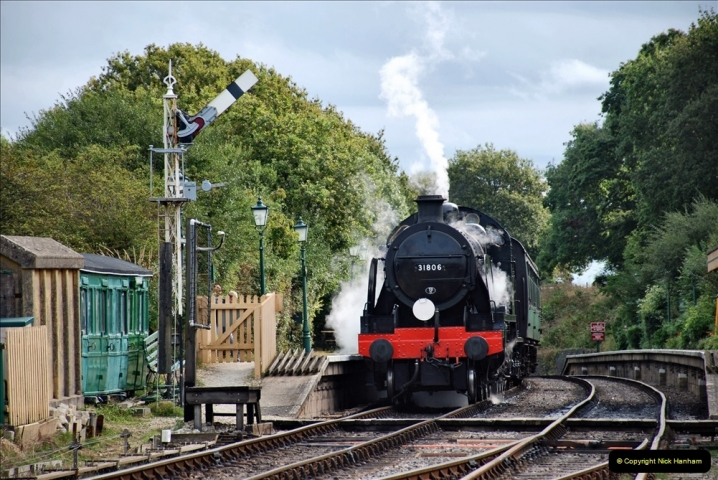 2021-09-17 SR Track Inspection Walk Norden to Swanage five & a half miles. (132) 132