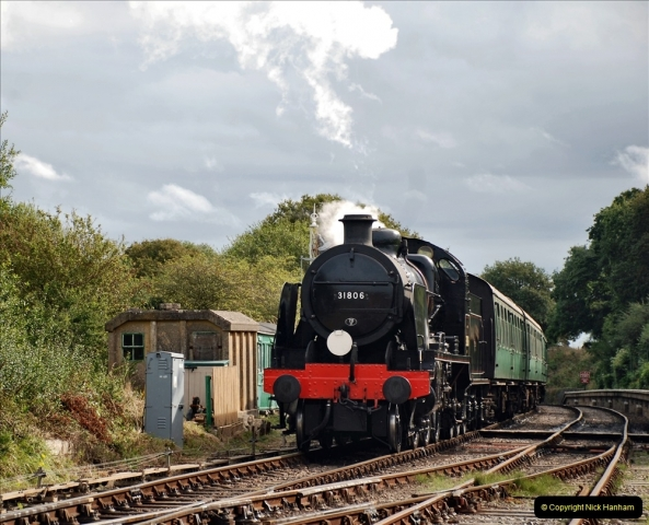 2021-09-17 SR Track Inspection Walk Norden to Swanage five & a half miles. (134) 134