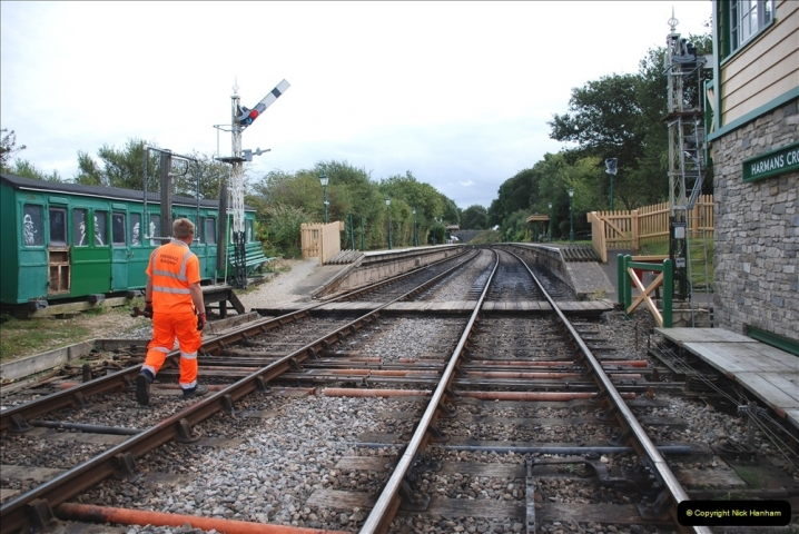 2021-09-17 SR Track Inspection Walk Norden to Swanage five & a half miles. (139) 139
