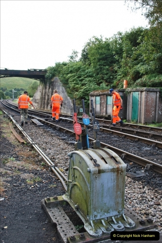 2021-09-17 SR Track Inspection Walk Norden to Swanage five & a half miles. (14) 014