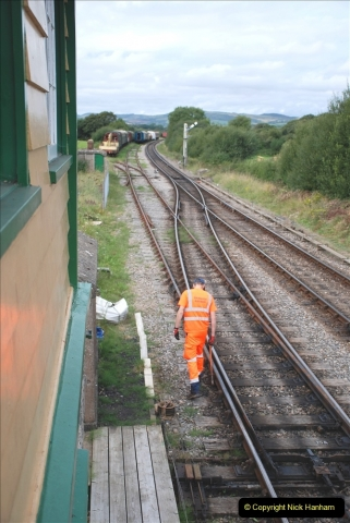 2021-09-17 SR Track Inspection Walk Norden to Swanage five & a half miles. (140) 140