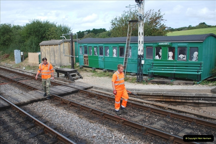 2021-09-17 SR Track Inspection Walk Norden to Swanage five & a half miles. (141) 141