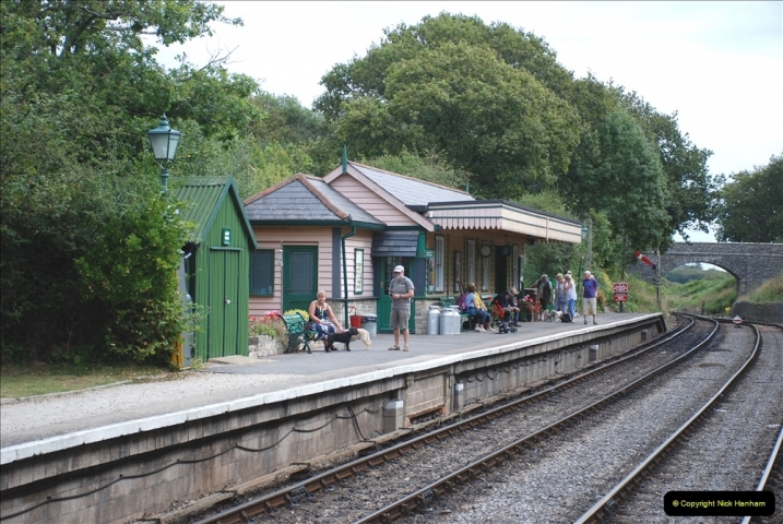 2021-09-17 SR Track Inspection Walk Norden to Swanage five & a half miles. (142) 142